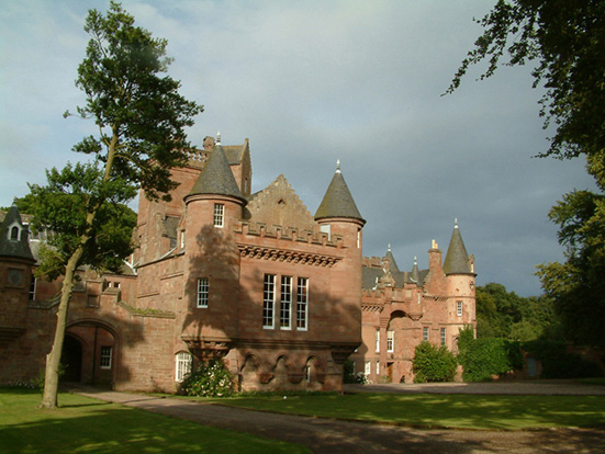 hospitalfield house  arbroath  angus  scotland