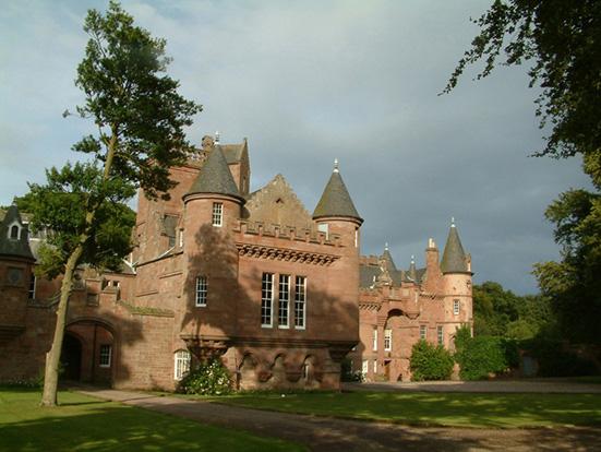 hospitalfield house  arbroath  angus  scotland