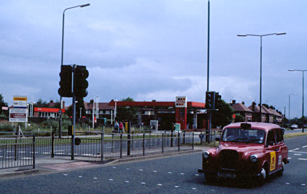 Harvey Road Service Station, Derby